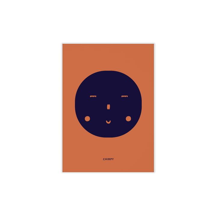 Chirpy Feeling von Paper Collective, 30 x 40 cm