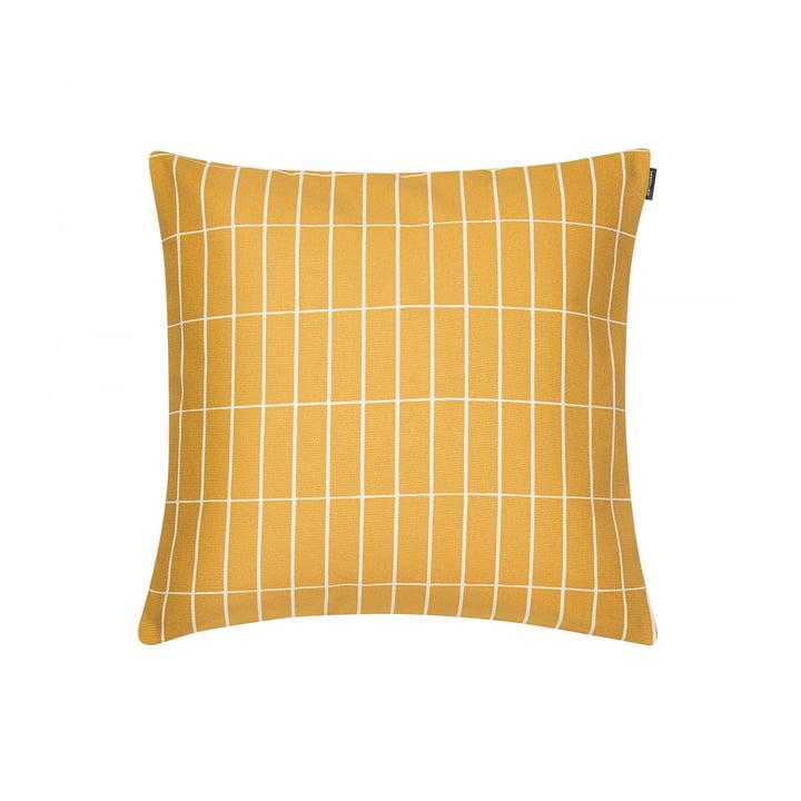 Pieni Tiiliskivi Kissenbezug 40 x 40 cm von Marimekko in gelb / weiß