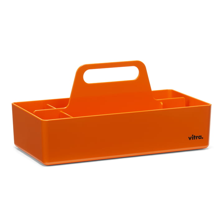 Storage Toolbox von Vitra in mandarine