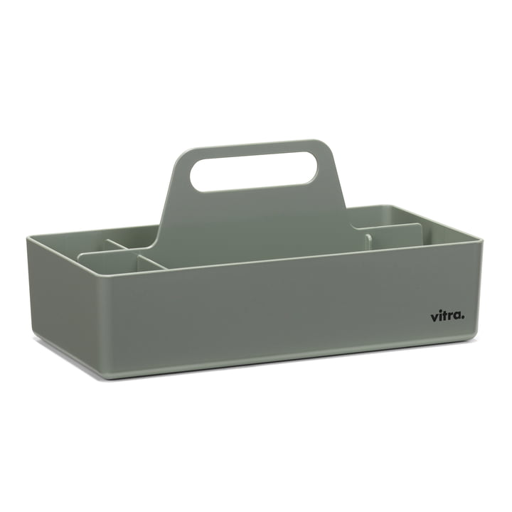 Storage Toolbox von Vitra in moosgrau