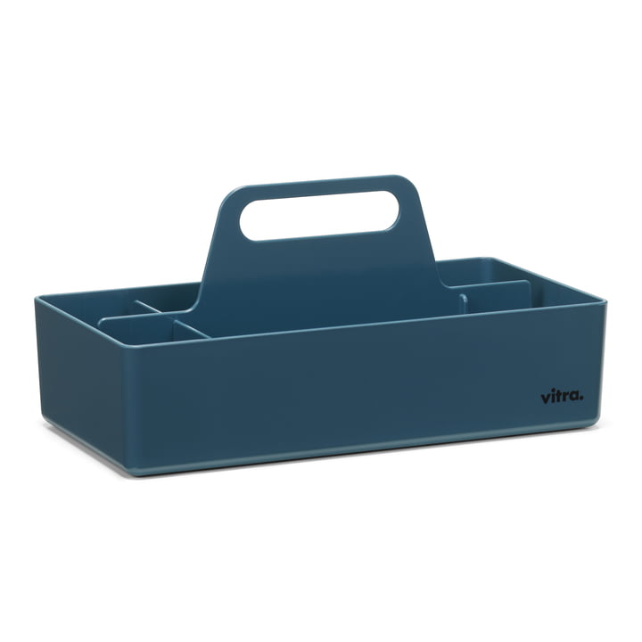 Storage Toolbox von Vitra in meerblau