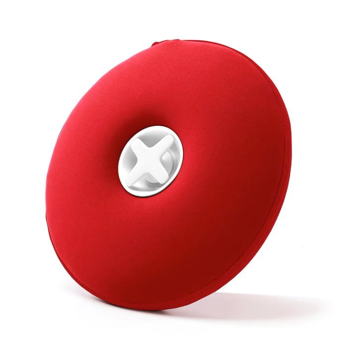 Pill Wärmflasche von Authentics in rot