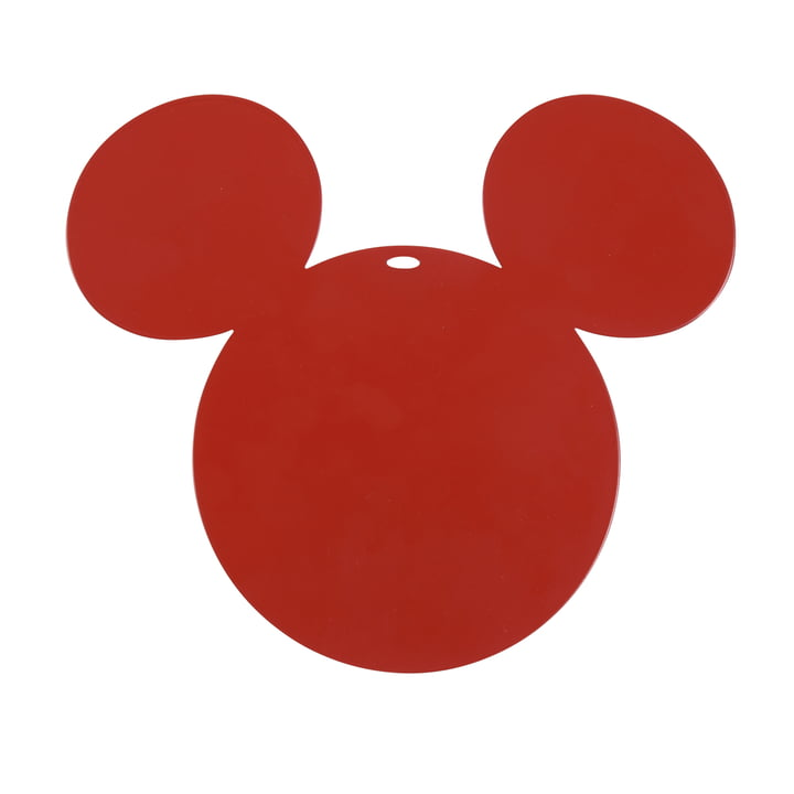 Mickey Mouse Untersetzer von Fermob in mohnrot