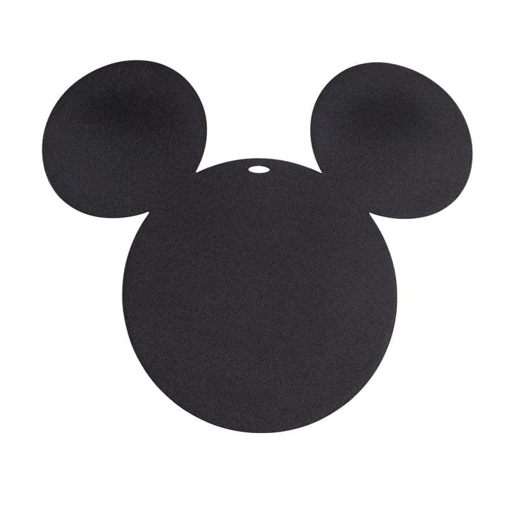Mickey Mouse Untersetzer von Fermob in lakritze
