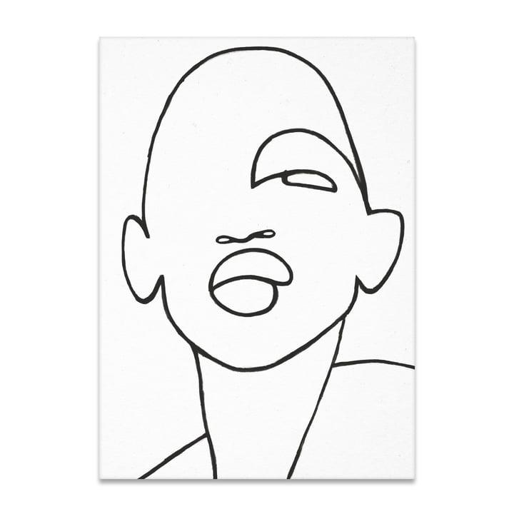 Faberge 50 x 70 cm von Paper Collective