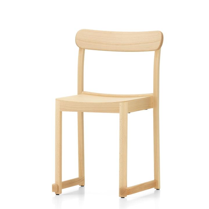 Atelier Chair von Artek in Buche natur lackiert (Filzgleiter)
