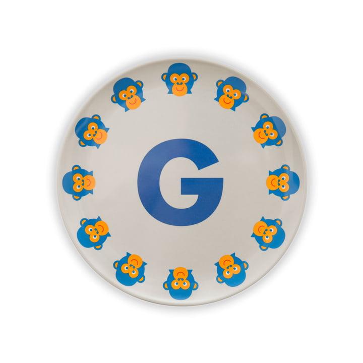ABC Melaminteller G von byGraziela