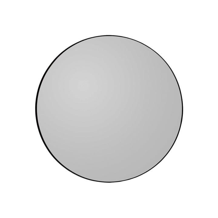 Circum Wandspiegel medium, Ø 90 cm in schwarz von AYTM