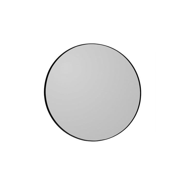 Circum Wandspiegel small, Ø 70 cm, schwarz von AYTM