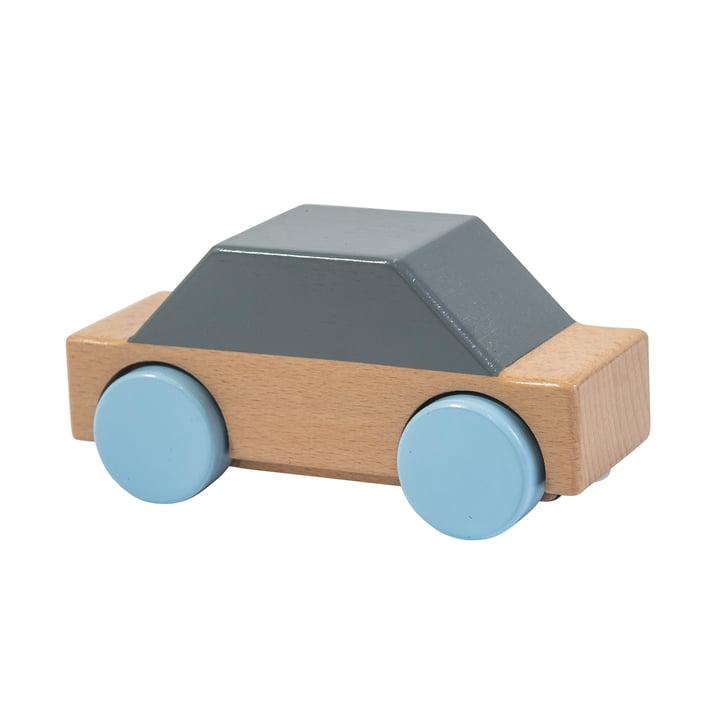Wagen aus Holz von Sebra in grau
