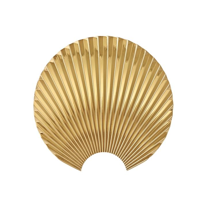 Concha Wandhaken, medium in gold von AYTM