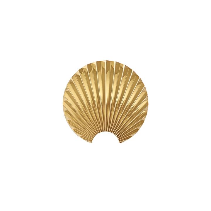 Concha Wandhaken, extra small in gold von AYTM