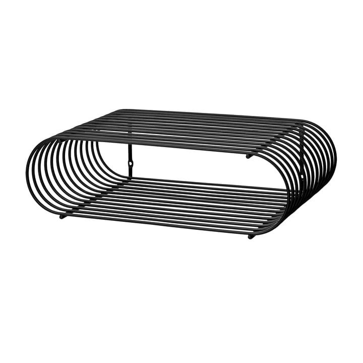 Curva Wandregal in schwarz von AYTM
