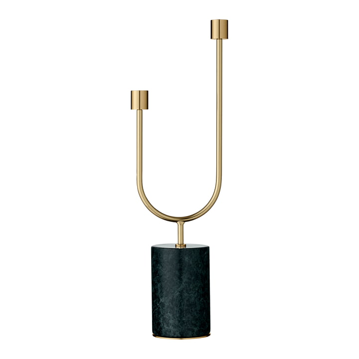 Grasil Kerzenhalter, forest / gold von AYTM