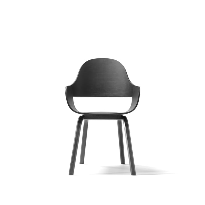 Showtime Nude Chair von BD Barcelona in schwarz