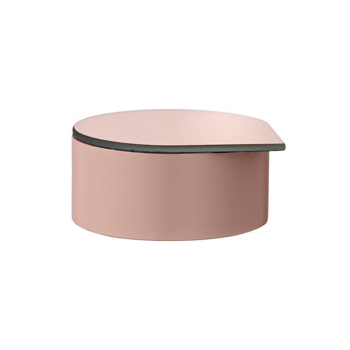 Gutta Schmuckbox mit Spiegel small in rose von AYTM