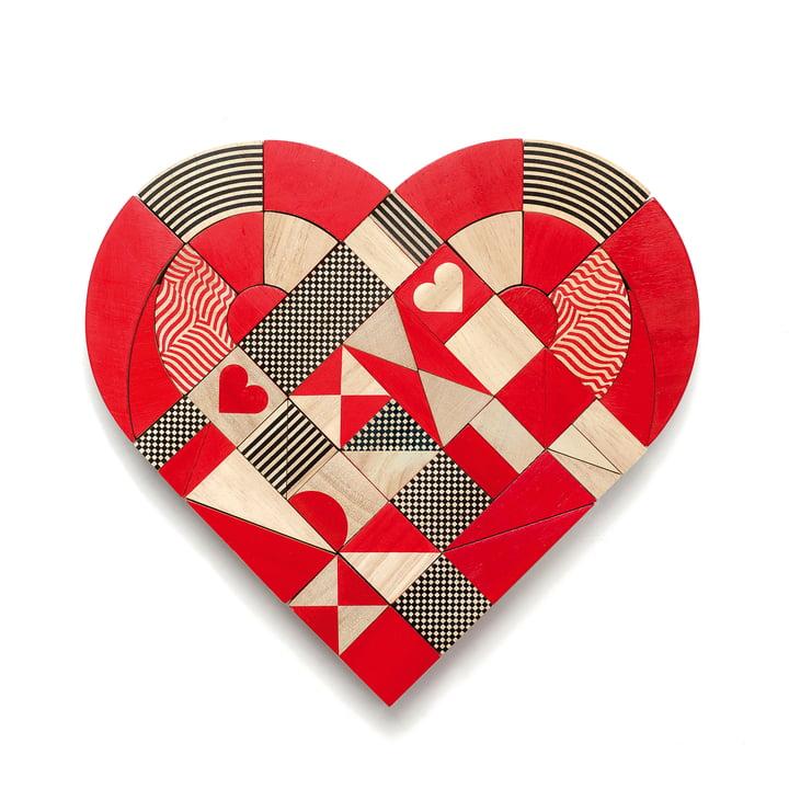 HeartShapes Holzspielzeug von Miller Goodman