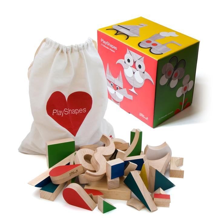 PlayShapes Holzspielzeug von Miller Goodman