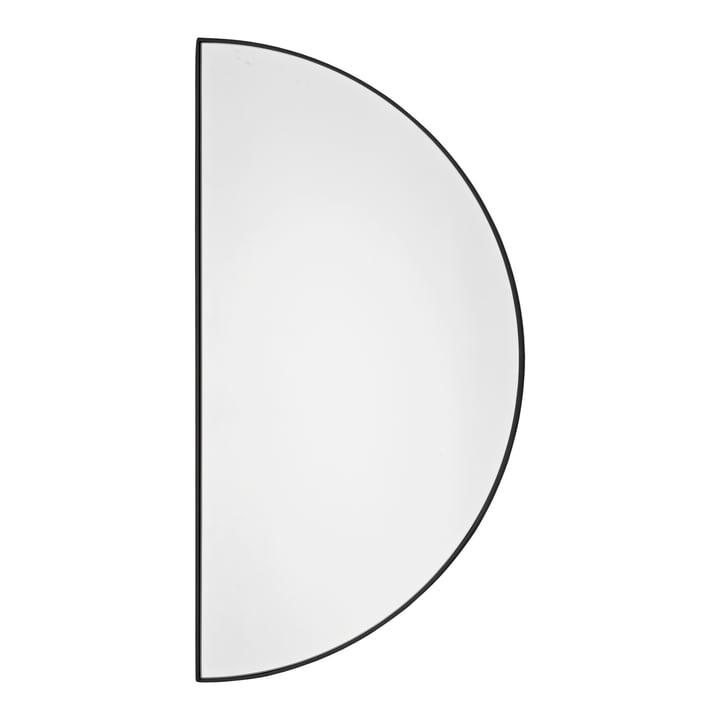 Unity Wandspiegel, Halbkreis in schwarz von AYTM