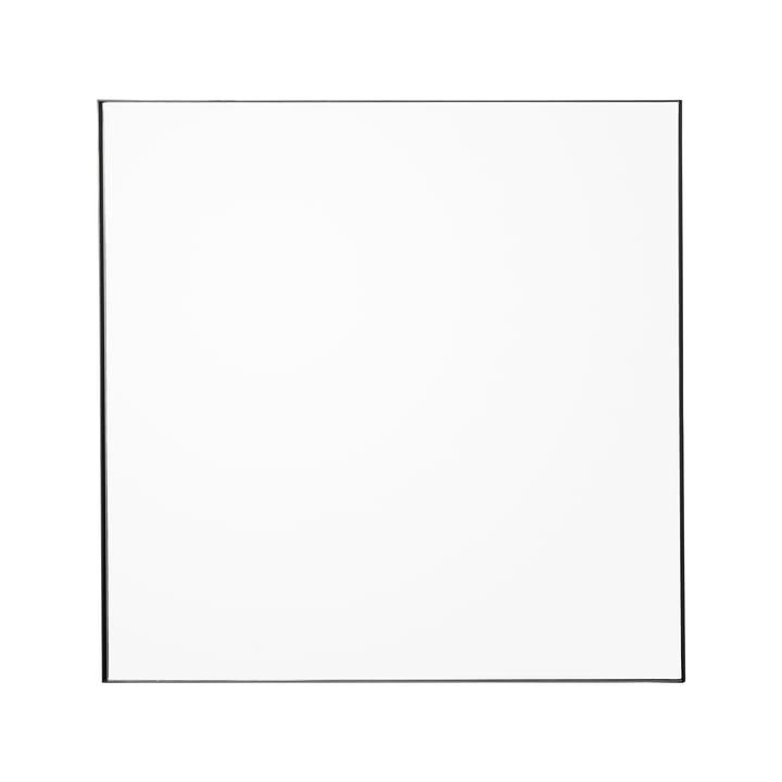 Quadro Wandspiegel, 90 x 90 cm, klar / schwarz von AYTM
