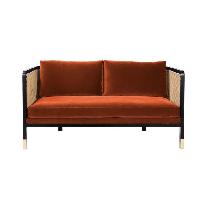 Wicker Sofa Velvet 160 von red edition fox (T27)