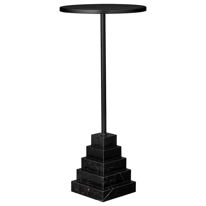 Solum Beistelltisch high, Ø 32 x H 67 cm, schwarz von AYTM