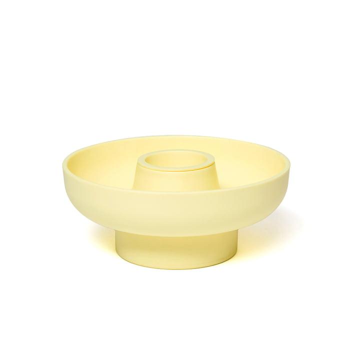 Hoop Servierschale 3-teilig von Ommo in gelb