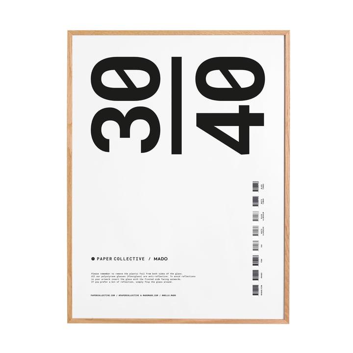 Bilderrahmen 30 x 40 cm von Paper Collective in Eiche