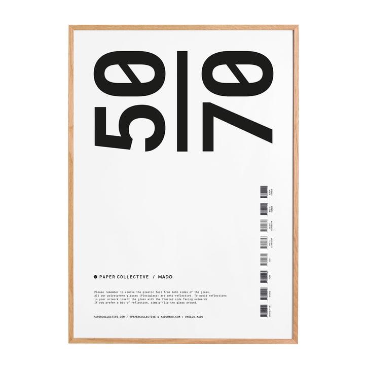 Bilderrahmen 50 x 70 cm von Paper Collective in Eiche