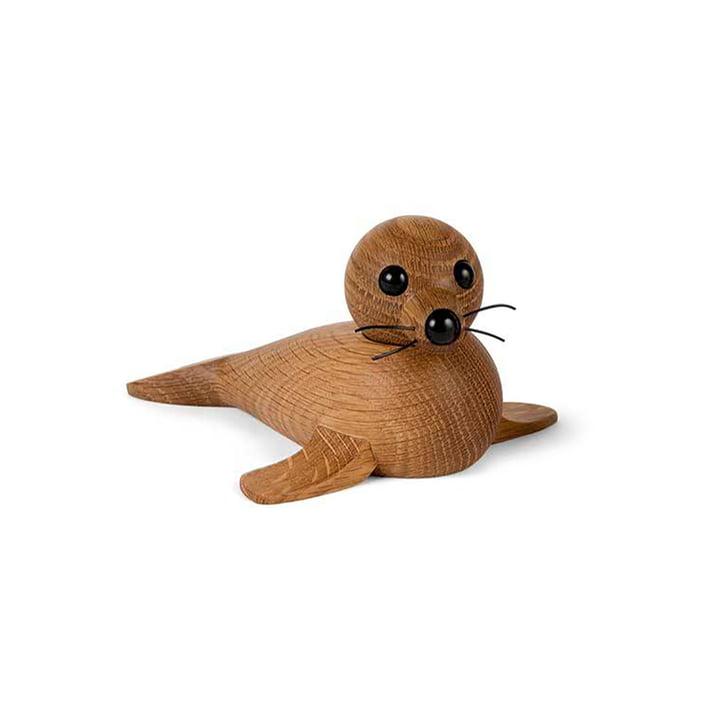 Holz-Robbe Baby Seal von Spring Copenhagen in Eiche