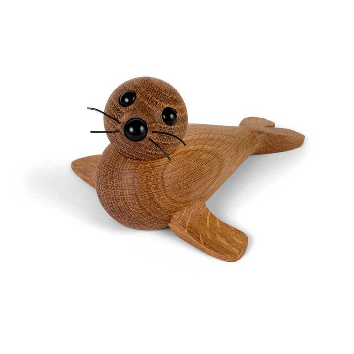 Holz-Robbe Female Seal von Spring Copenhagen in Eiche