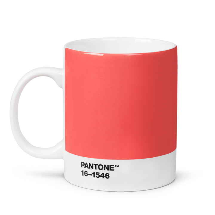 Becher 2019 von Pantone in living coral (16-1546)