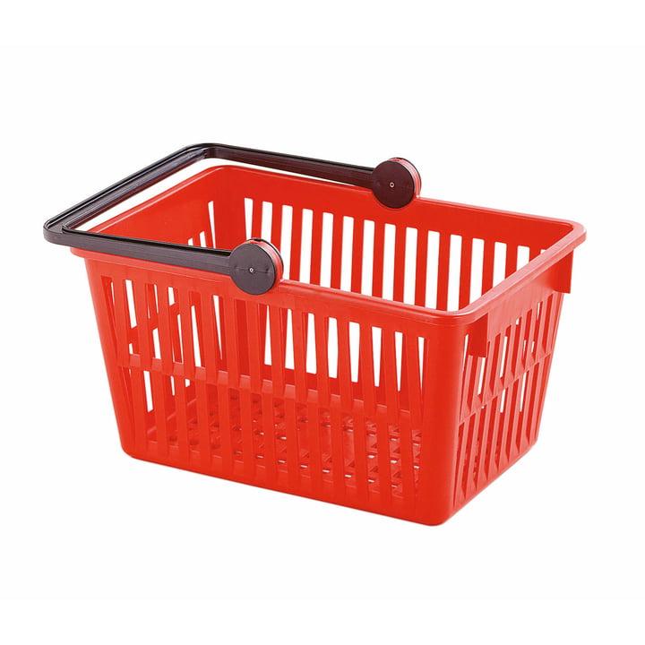 Einkaufskorb von Stöckli in rot
