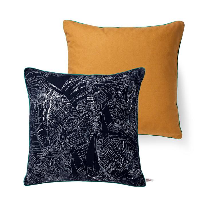 Jungle Kissen von Petite Friture, 50 x 50 cm in schwarz / weiß