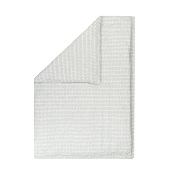 Räsymatto Deckenbezug von Marimekko 140 x 200 cm von Marimekko in weiß / hellgrau