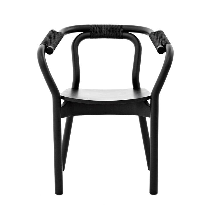 Knot Chair von Normann Copenhagen in schwarz / schwarz
