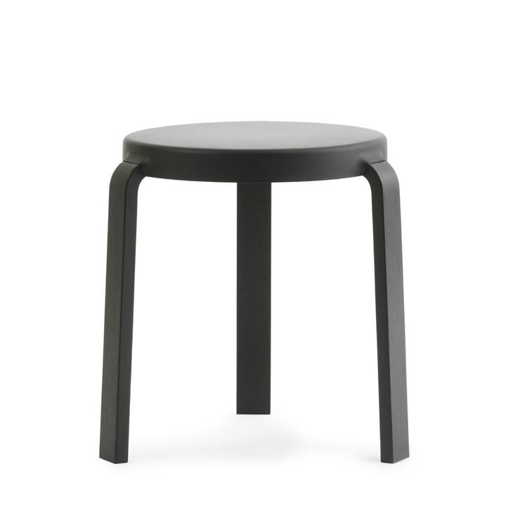 Tap Hocker von Normann Copenhagen in schwarz / schwarz