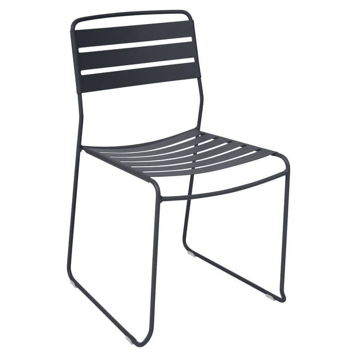 Surprising Stuhl von Fermob in anthrazit