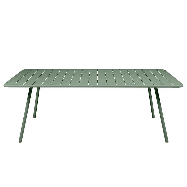 Luxembourg Tisch rechteckig 100 x 207 cm von Fermob in kaktus