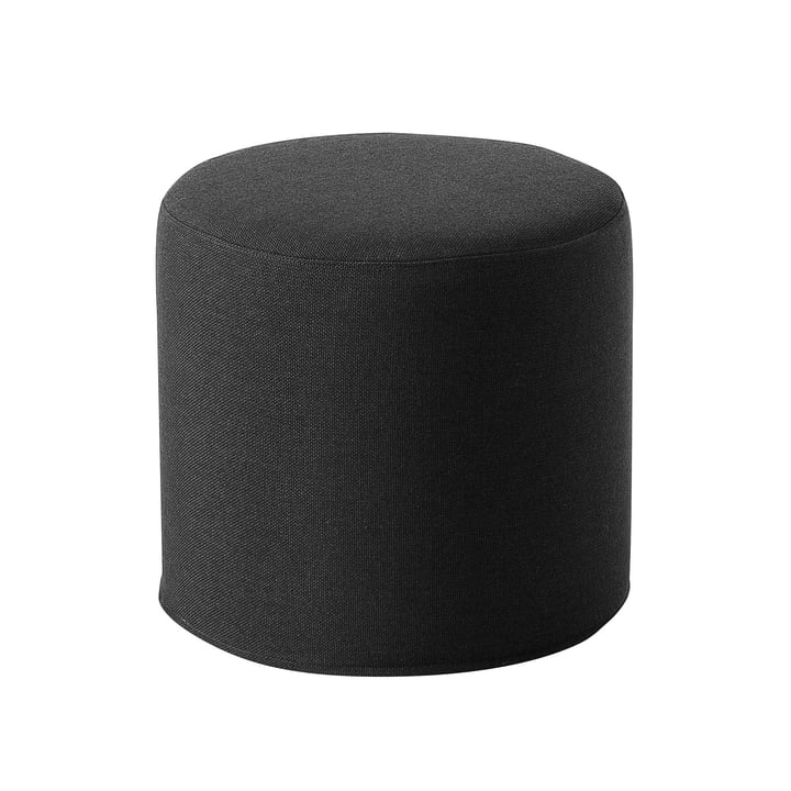 Drum Hocker / Beistelltisch hoch Ø 45 x H 40 cm von Softline in Vision dunkelgrau (439)