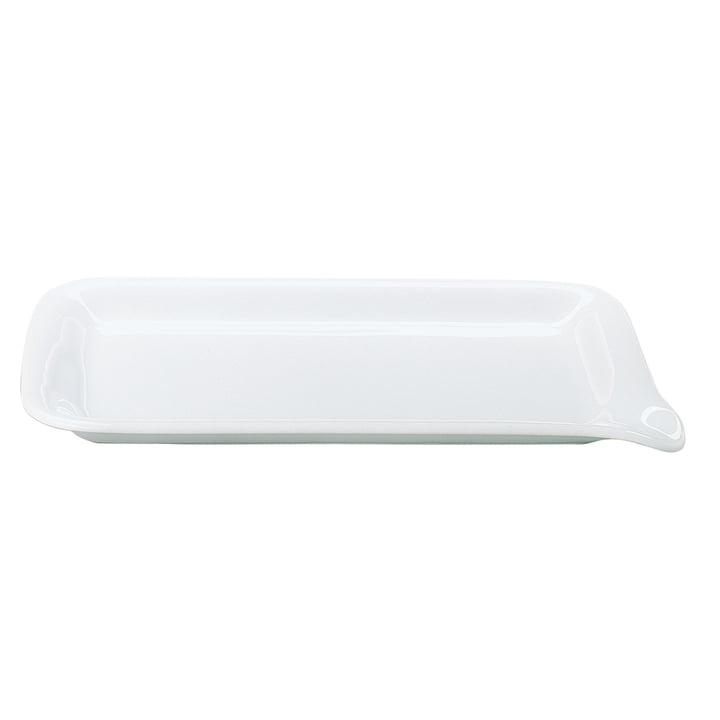 Five Senses Midi-Menüplatte 28 x 19 cm von Kahla in weiß