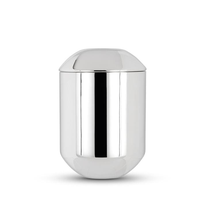 Form Teedose von Tom Dixon aus Edelstahl