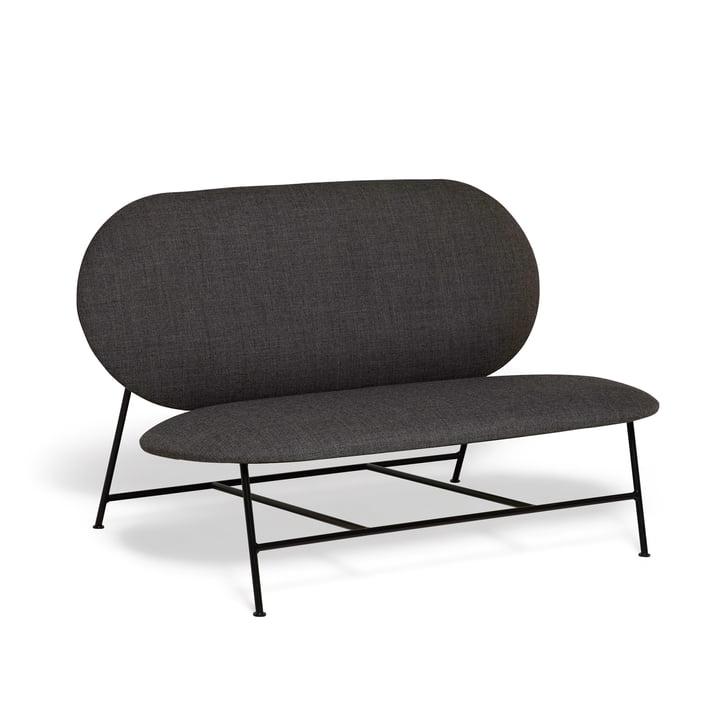 Oblong Sofa von Northern in schwarz / dunkelgrau (Brusvik 08)