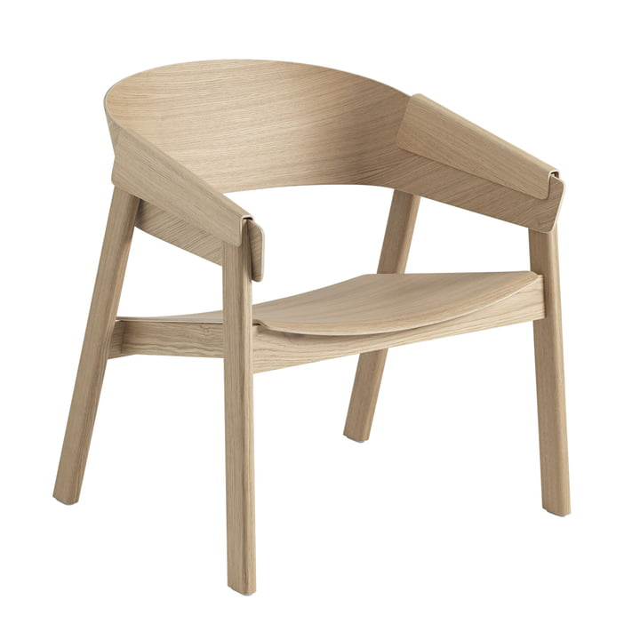 Cover Lounge Chair in Eiche von Muuto