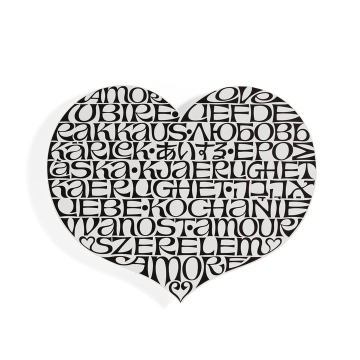 Metal Wall Relief International Love Heart von Vitra