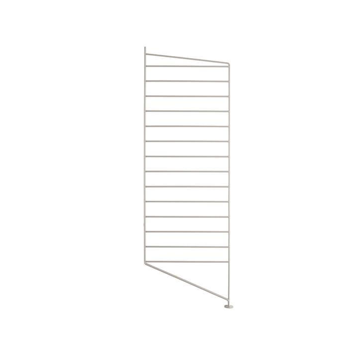 Bodenleiter für String Regal 85 x 30 cm von String in beige
