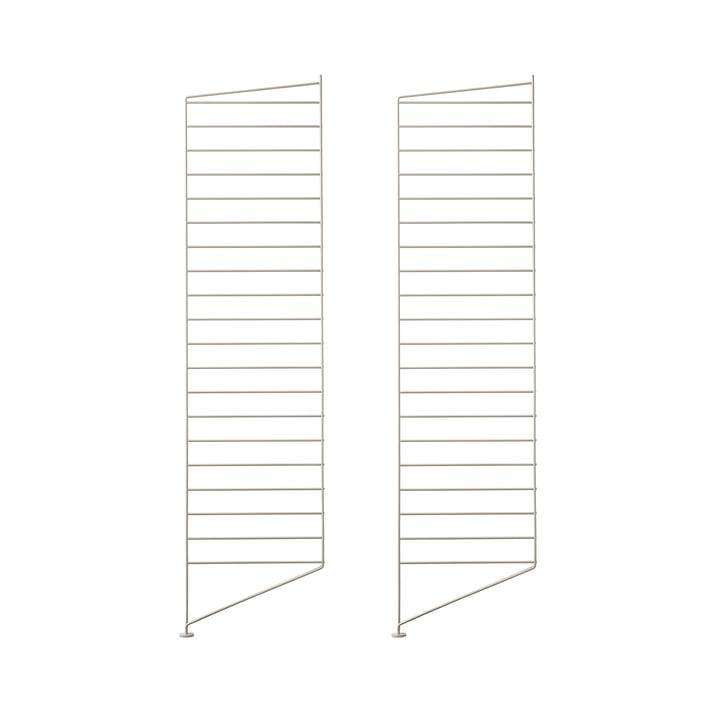Bodenleiter für String Regal 115 x 30 cm (2er Set) von String in beige