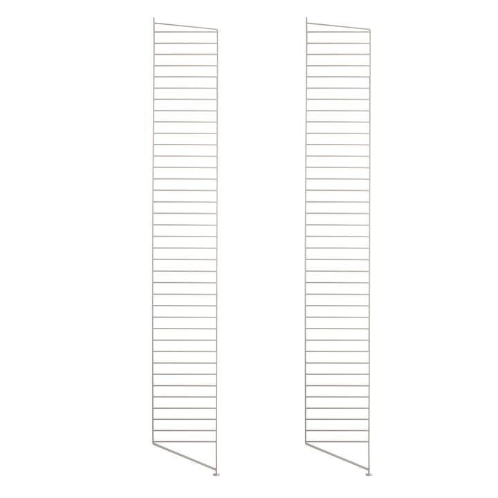 Bodenleiter für String Regal 200 x 30 cm (2er Set) von String in beige