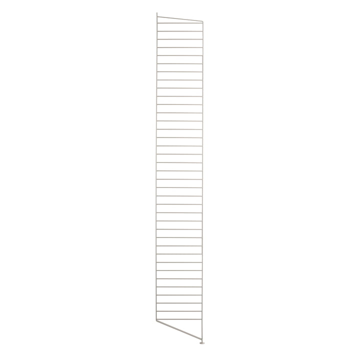 Bodenleiter für String Regal 200 x 30 cm von String in beige