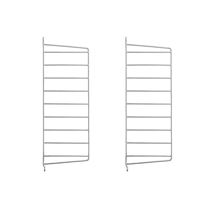 Wandleiter für String Regal 50 x 20 cm (2er-Set) von String in verzinkt